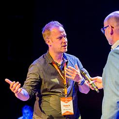 Content Marketing Fast Forward Moderator Diederik Martens